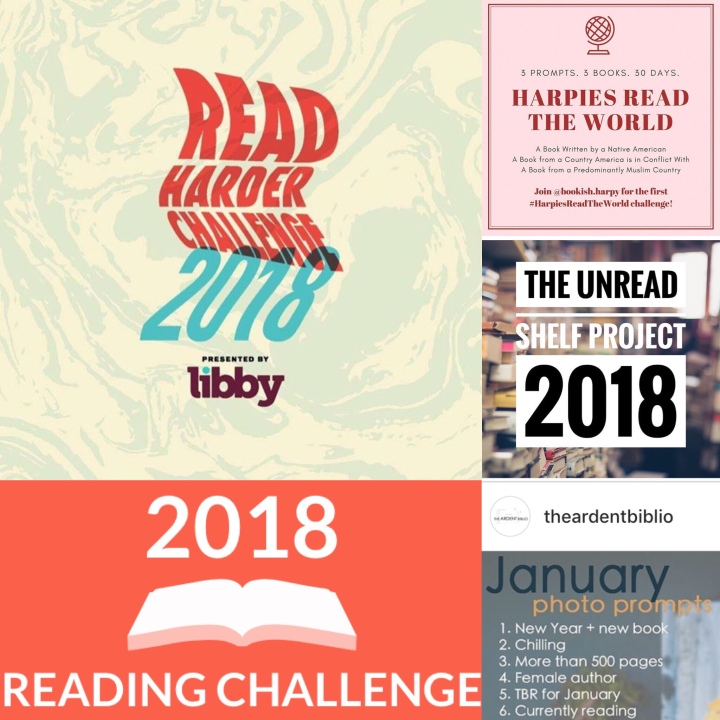 Six Great Reading Challenges for 2018