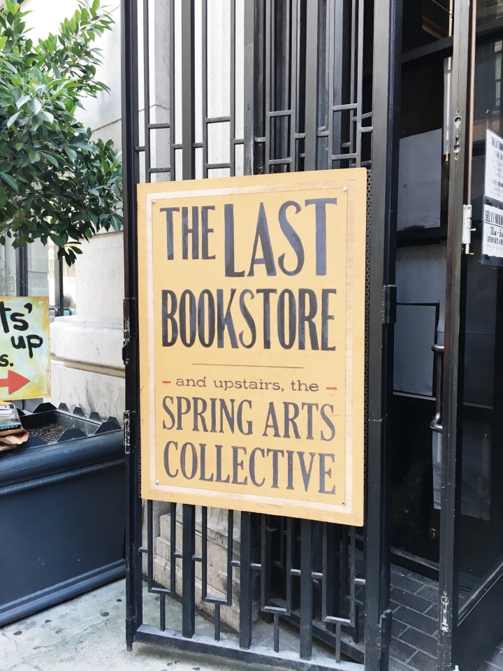 Bookstore Tour: The Last Bookstore, Downtown Los Angeles