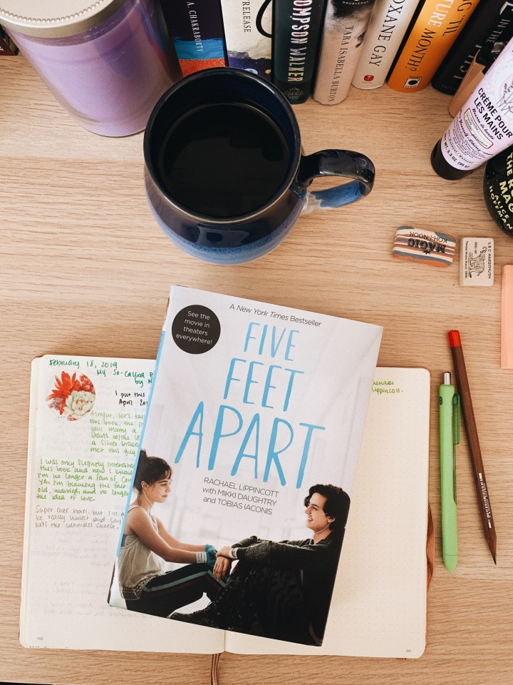 My Thoughts: Five Feet Apart by Rachael Lippincott