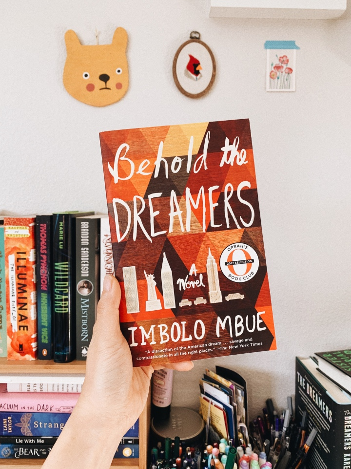 The Backlist Book Club // Behold the Dreamers by Imbolo Mbue