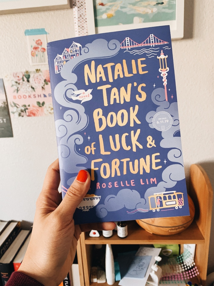 Natalie Tan's Book of Luck and Fortune by Roselle Lim // Book Review