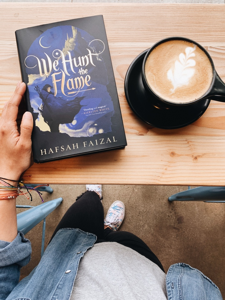 We Hunt the Flame by Hafsah Faizal // Book Review