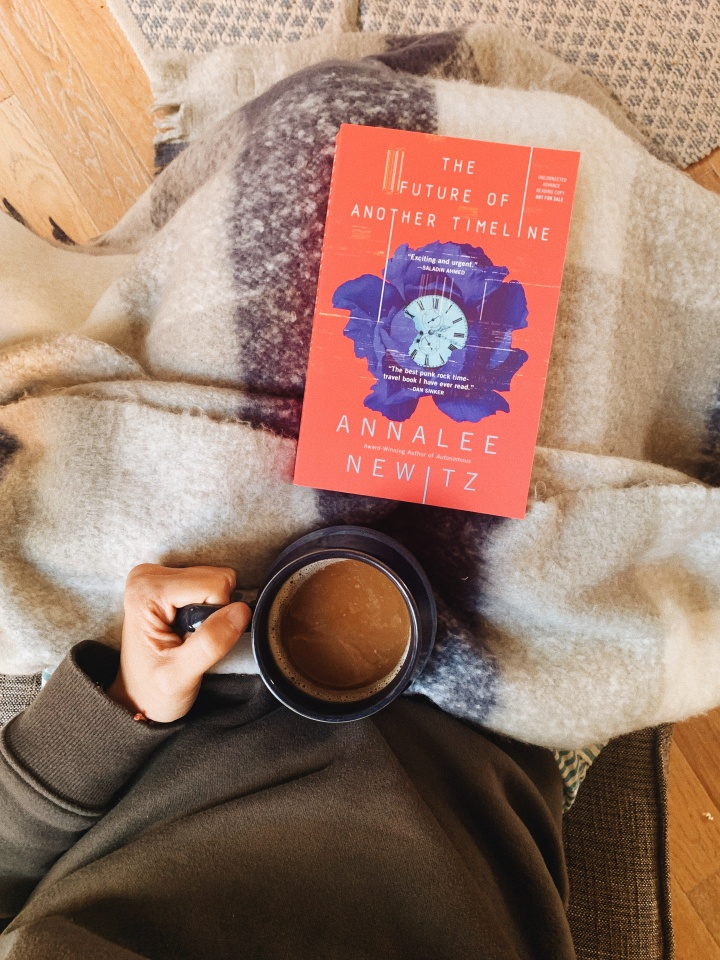 The Future of Another Timeline by Annalee Newitz // BookReview