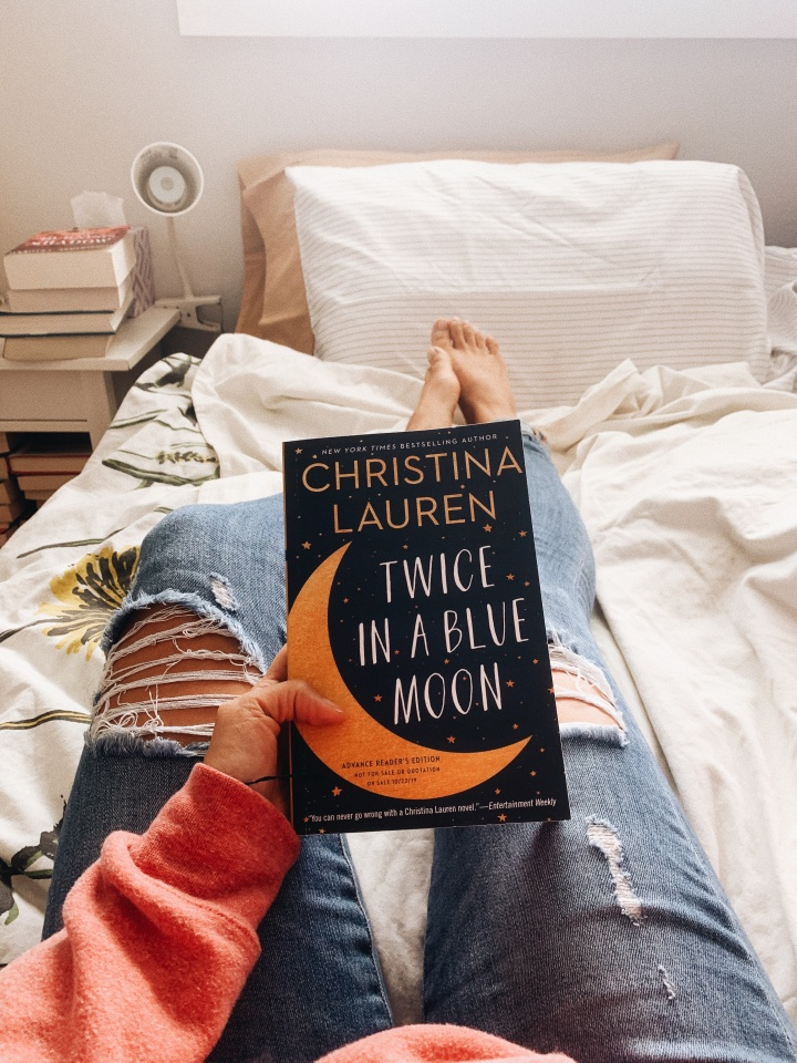 Twice in a Blue Moon by Christina Lauren // Book Review