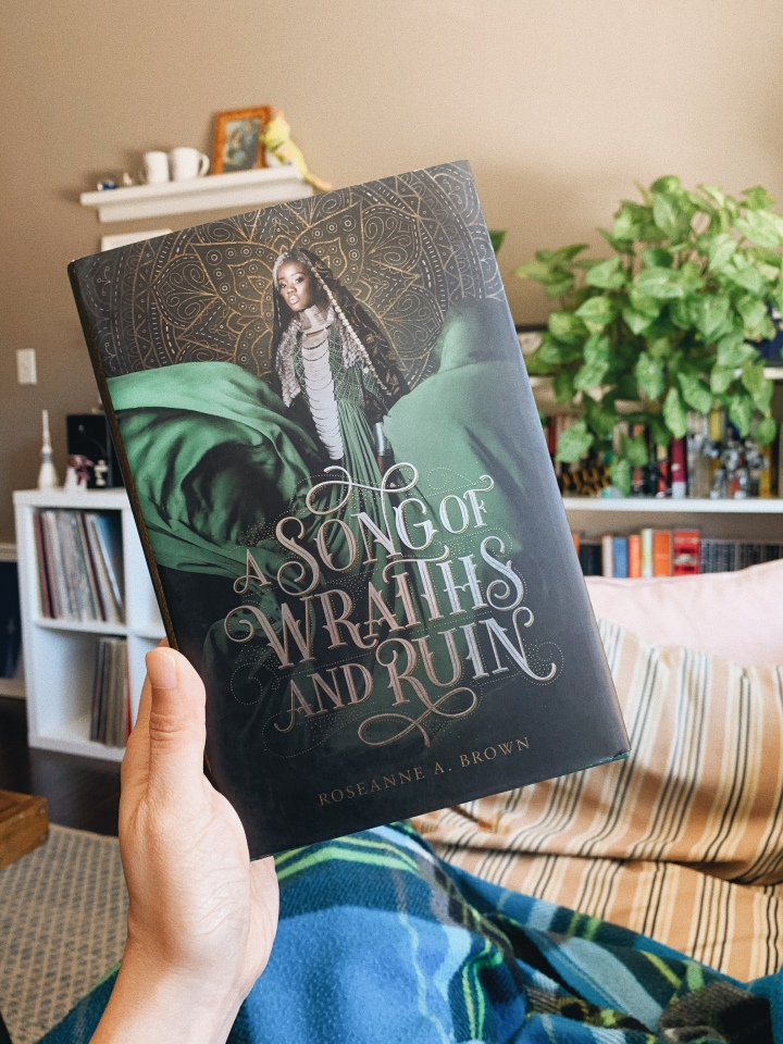 A Song of Wraiths and Ruin by Roseanne A Brown // BookReview