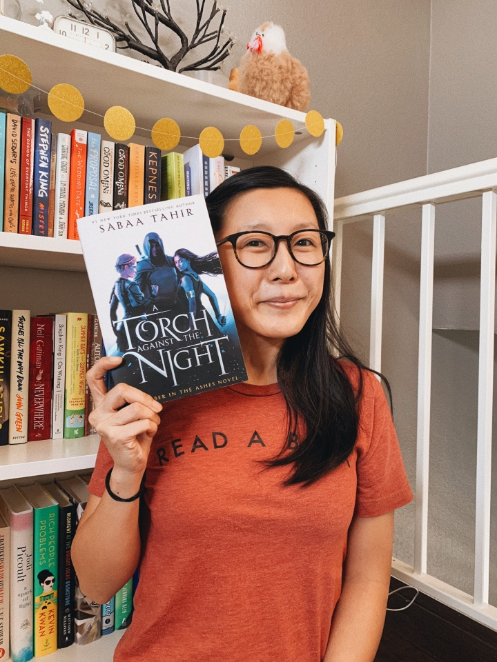 A Torch Against the Night by Sabaa Tahir // Book Review