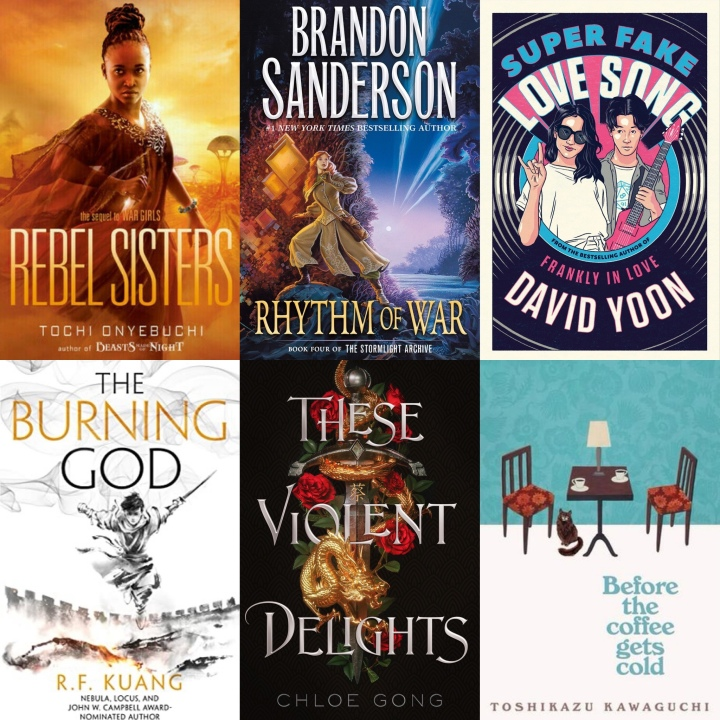Pub Day Picks // November 17, 2020