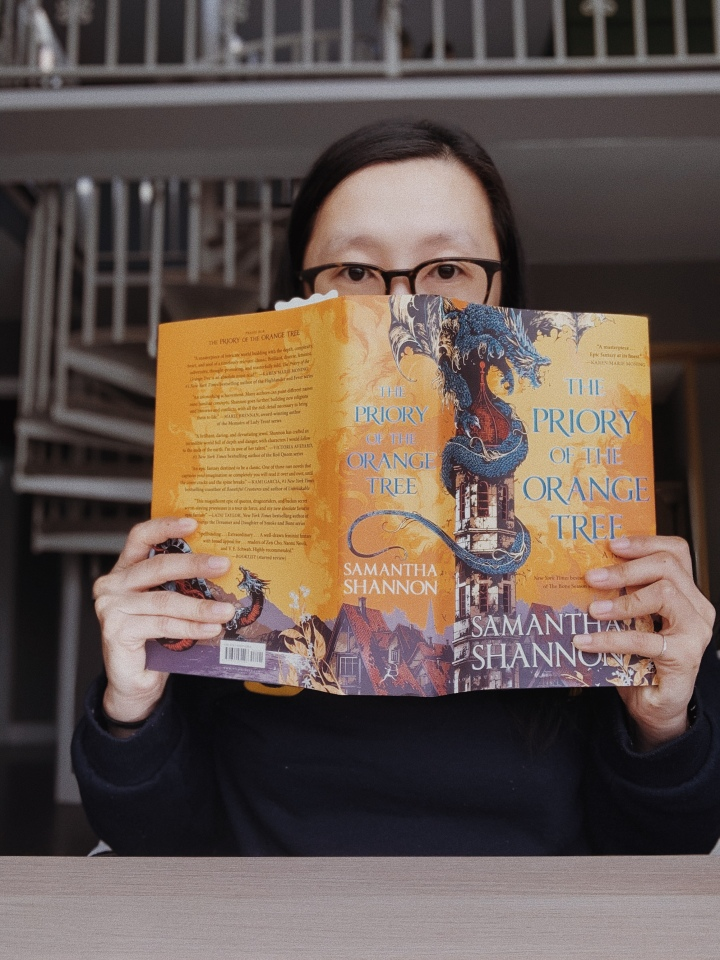 December 2020 Buddy Read: The Priory of the Orange Tree by Samantha Shannon