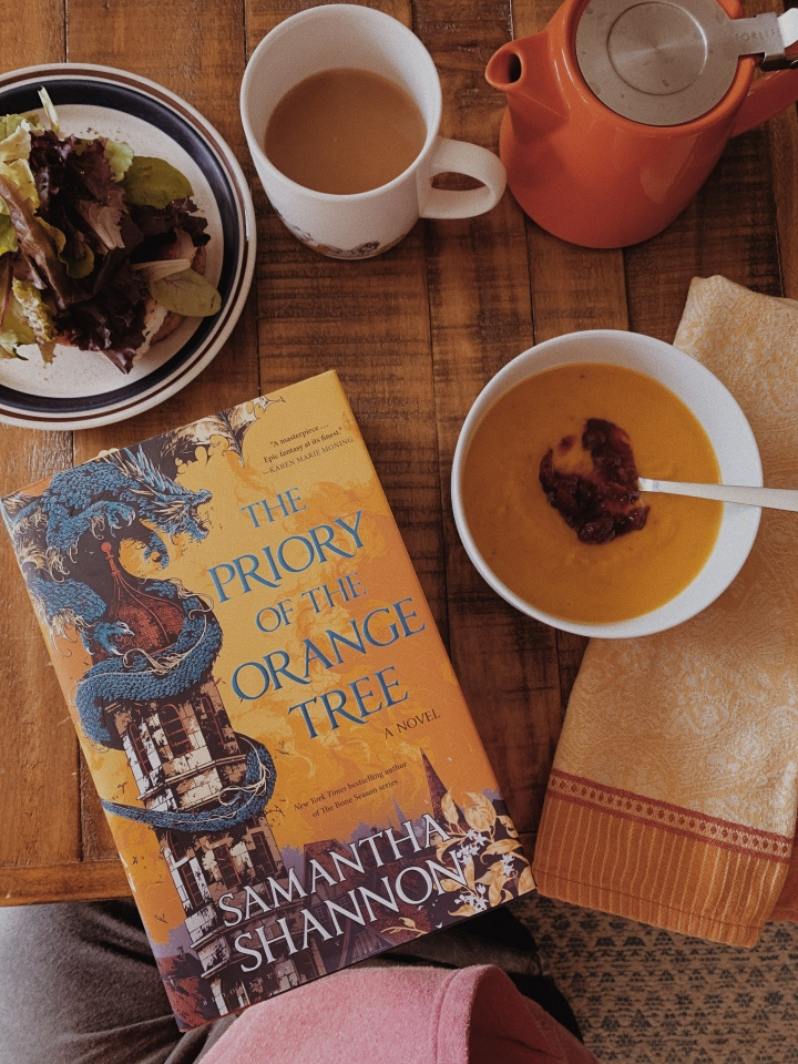 The Priory of the Orange Tree by Samantha Shannon // ThirdDiscussion