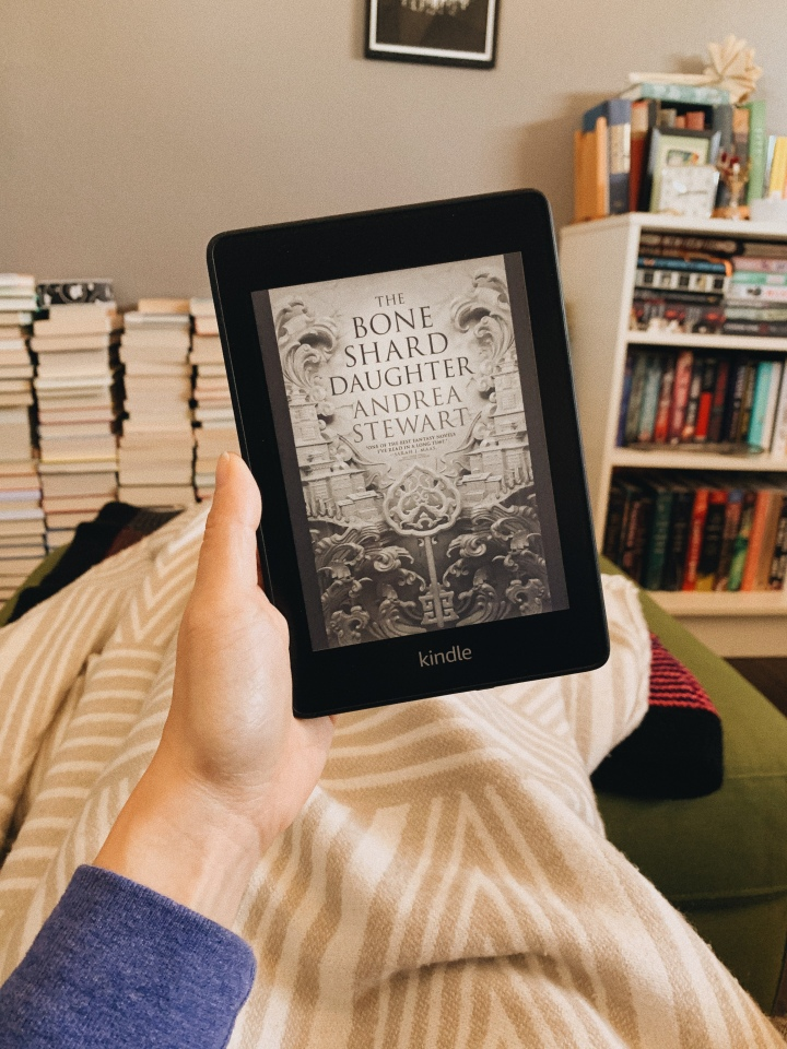 The Bone Shard Daughter by Andrea Stewart // Book Review