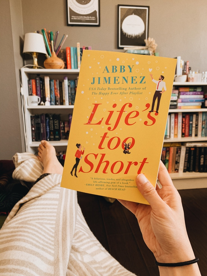 Life's Too Short by Abby Jimenez // Book Review