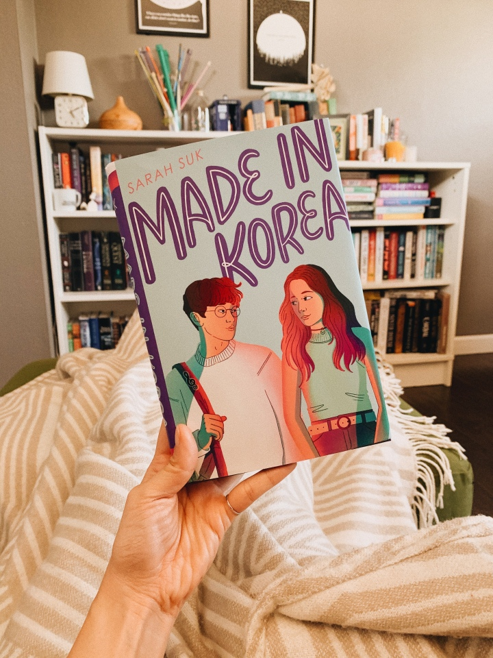 Made in Korea by Sarah Suk // BookReview