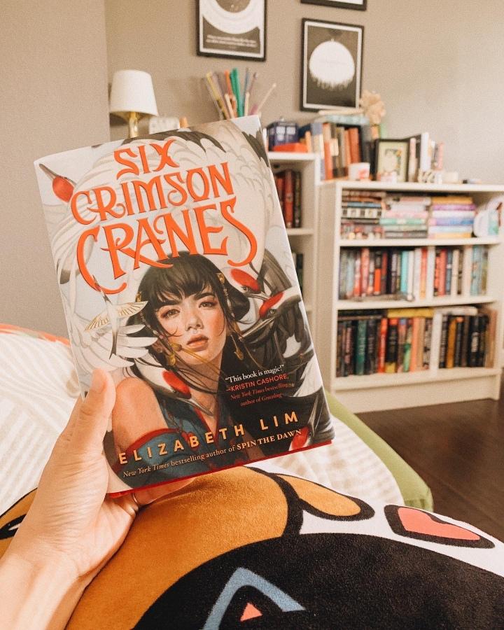 Six Crimson Cranes by Elizabeth Lim // BookReview