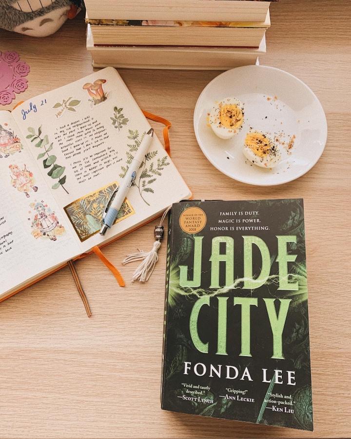 Jade City by Fonda Lee // BookReview