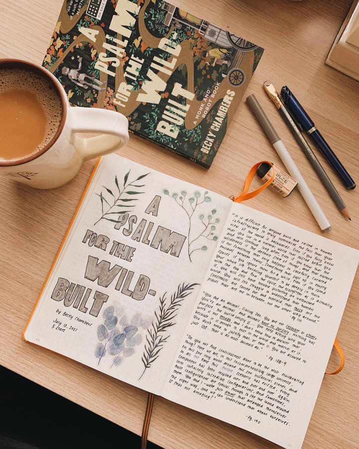 A Psalm for the Wild-Built by Becky Chambers // BookReview