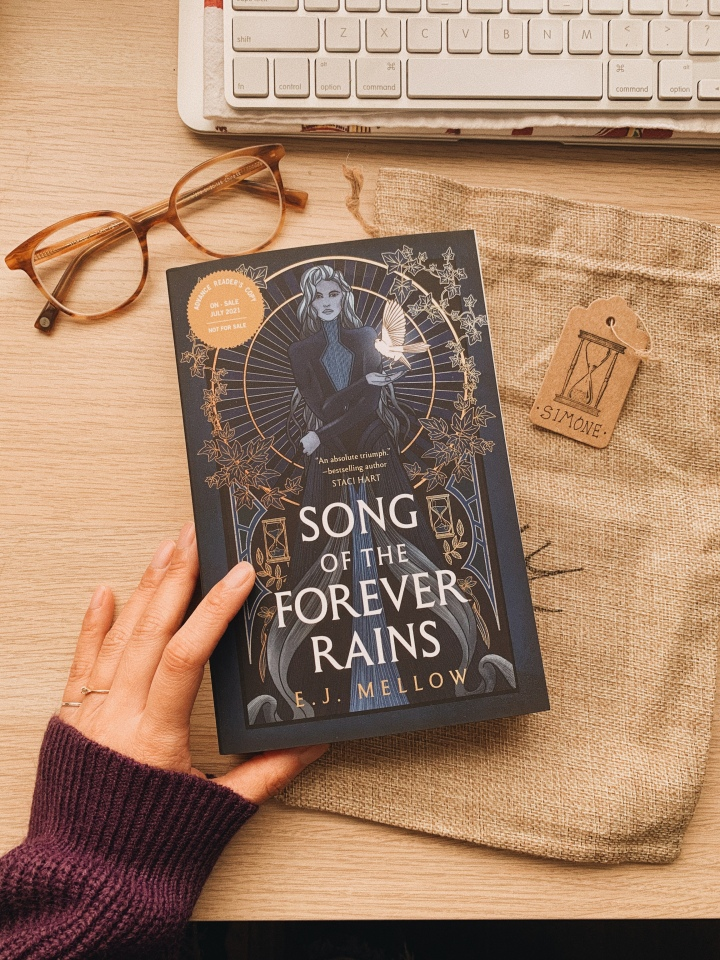 Song of the Forever Rains by EJ Mellow // BookReview