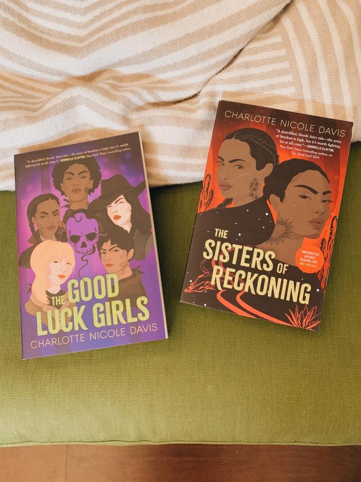 New to Me Series // The Good Luck Girls by Charlotte NicoleDavis