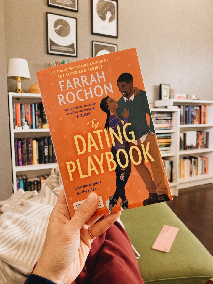 The Dating Playbook by Farrah Rochon // BookReview