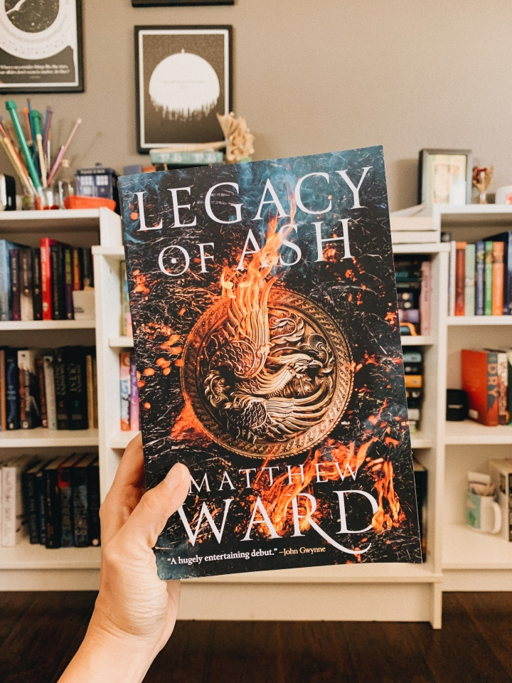 New to Me Series // The Legacy Trilogy by MatthewWard