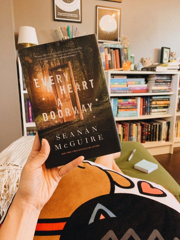 Every Heart a Doorway by Seanan McGuire // BookReview