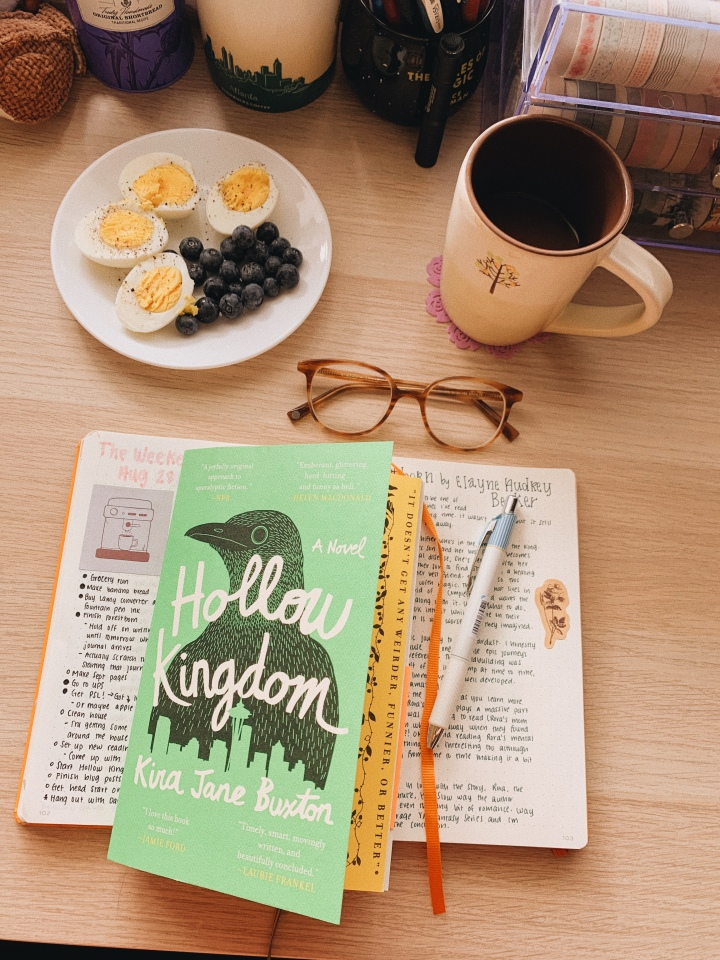 Hollow Kingdom by Kira Jane Buxton // BookReview
