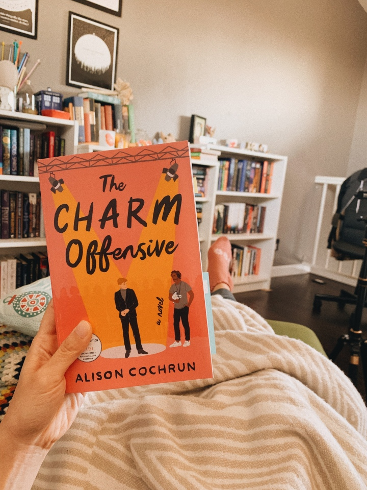 The Charm Offensive by Alison Cochrun // BookReview