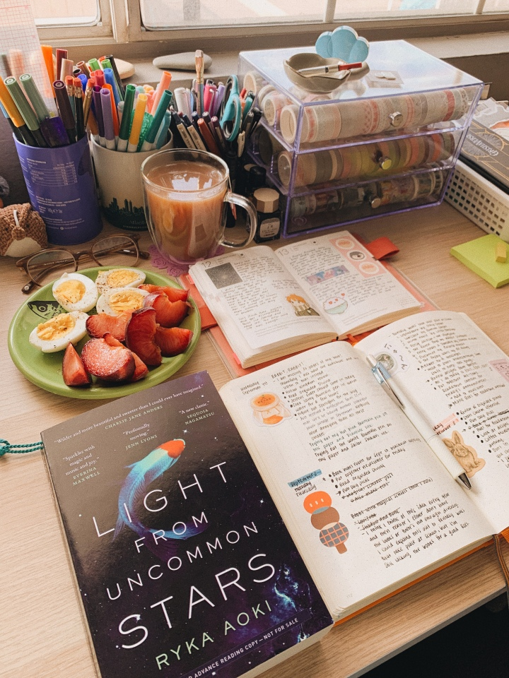 Light from Uncommon Stars by Ryka Aoki // BookReview