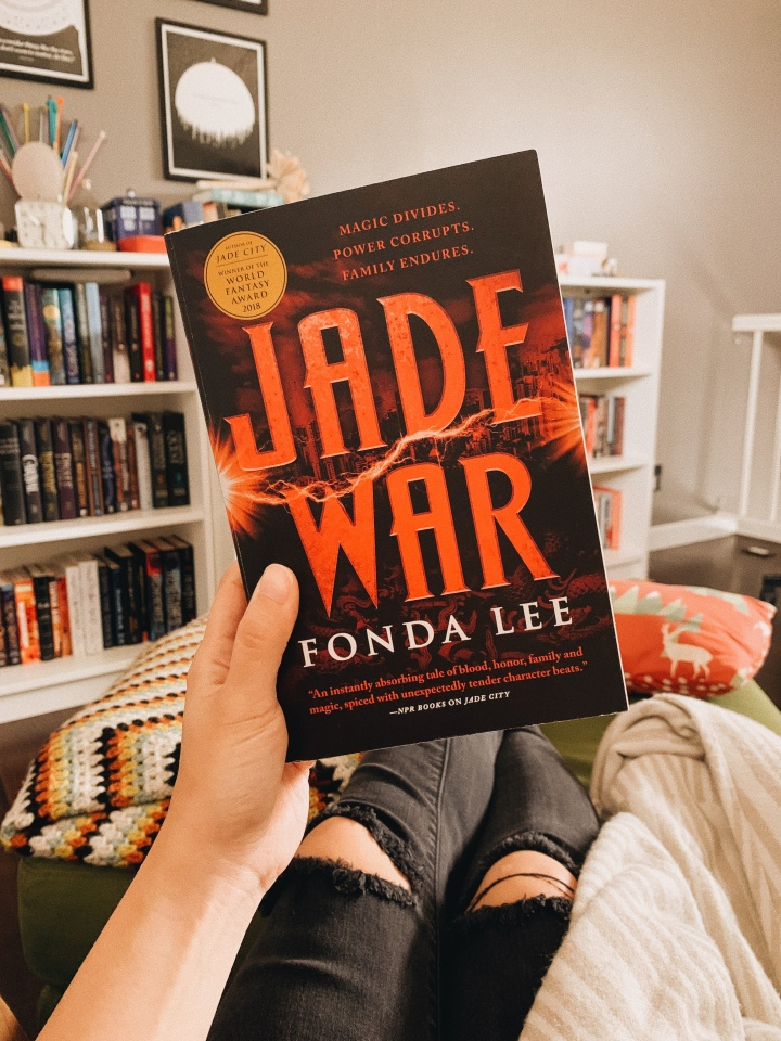 Jade War by Fonda Lee // BookReview