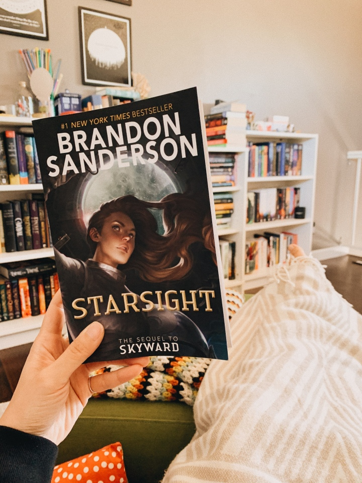 Starsight by Brandon Sanderson // BookReview