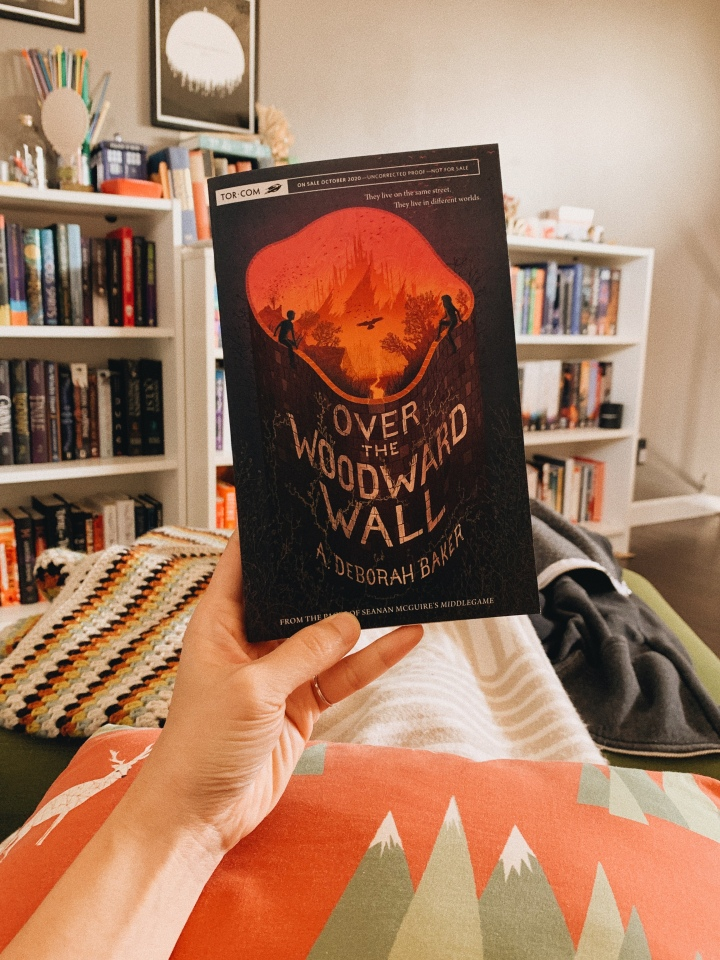 Over the Woodward Wall by A Deborah Baker // BookReview