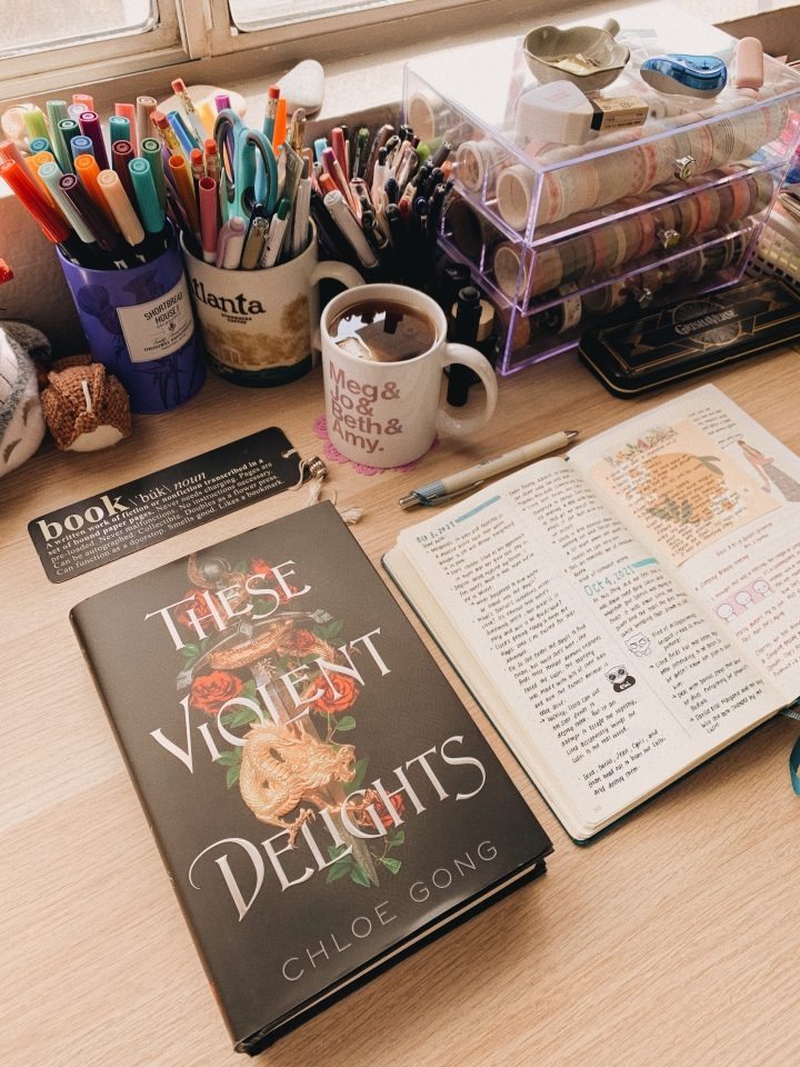 These Violent Delights by Chloe Gong // BookReview
